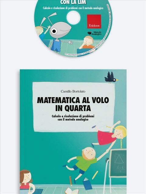 Matematica al volo in quarta Kit (Libro + Cd-Rom) - Erickson Eshop