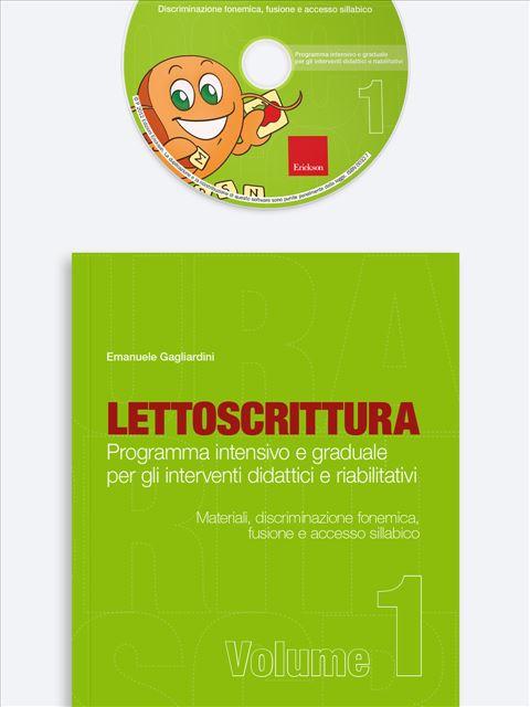 LETTOSCRITTURA - Volume 1 - Libri - Strumenti - App e software - Erickson 9