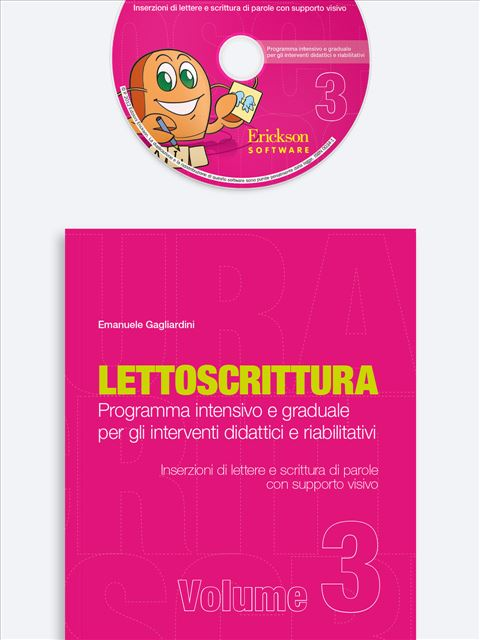 LETTOSCRITTURA - Volume 3 - Libri - App e software - Erickson 9