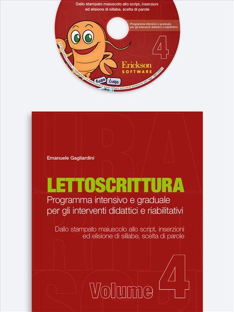 LETTOSCRITTURA - Volume 4 - Libri - App e software - Erickson 9