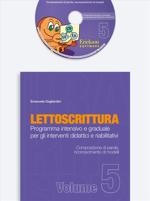 LETTOSCRITTURA - Volume 5 - Libri - App e software - Erickson 9
