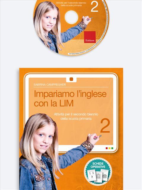 Impariamo l'inglese con la LIM 2 - Lingue straniere - Erickson