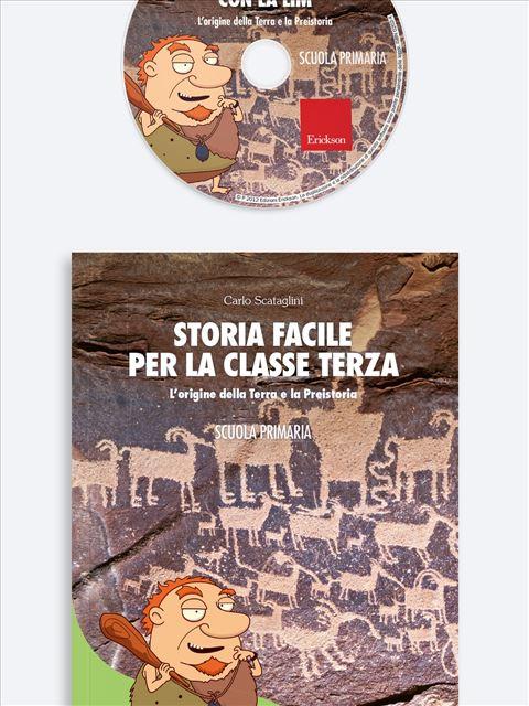 Storia facile per la classe terza - Geografia facile per la classe terza - Libri - Erickson 2