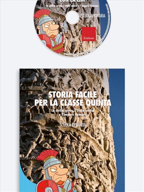 Storia facile per la classe quinta - Geografia facile per la classe terza - Libri - Erickson 2