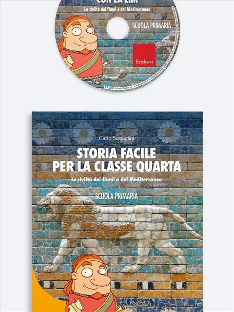 Storia facile per la classe quarta - Geografia facile per la classe quarta - Libri - Erickson 2