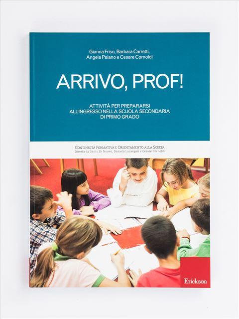 Arrivo, prof! - Libri per i compiti delle vacanze |  Classe quinta elementare