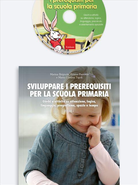 Sviluppare i prerequisiti per la scuola primaria - Simpatici libri per il passaggio alla scuola primaria - Erickson 3