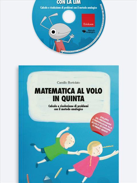 Matematica al volo in quinta Kit (Libro + Cd-Rom) - Erickson Eshop