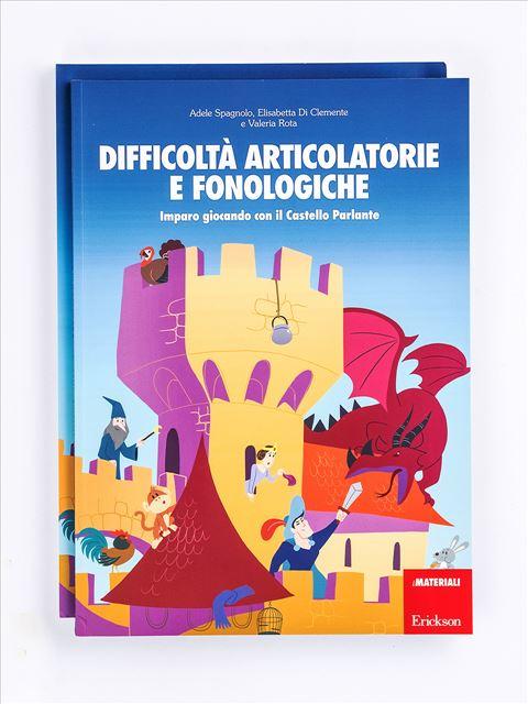 Difficoltà articolatorie e fonologiche - App e software per Scuola, Autismo, Dislessia e DSA - Erickson