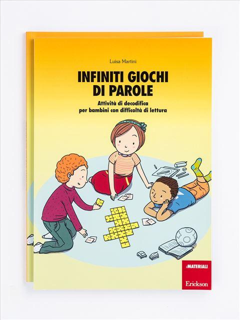 Infiniti giochi di parole - Occhio alle parole - Libri - App e software - Erickson
