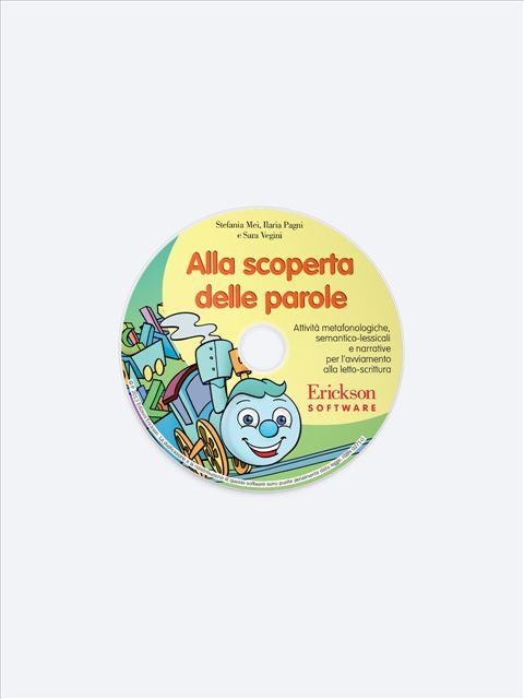Alla scoperta delle parole - App e software per Scuola, Autismo, Dislessia e DSA - Erickson 2