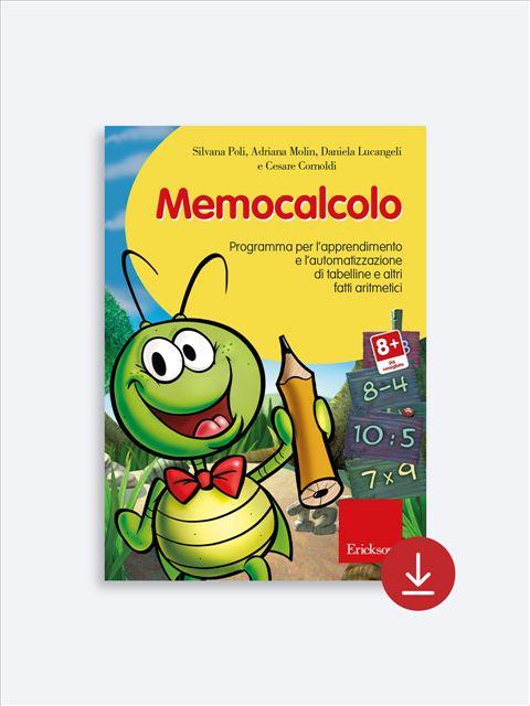Memocalcolo - Libri - App e software - Erickson 6