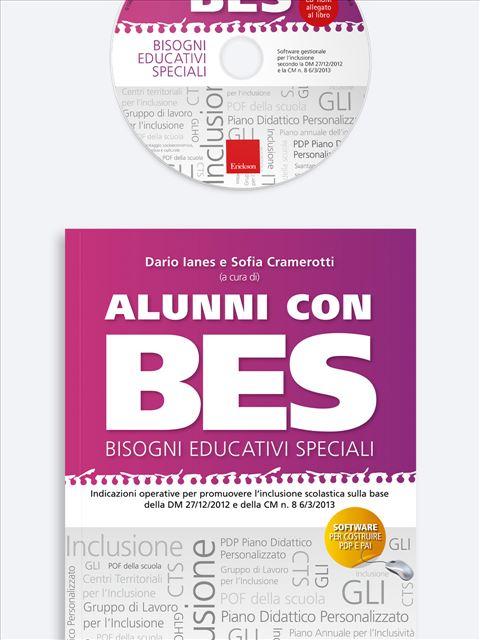 Alunni con BES - Bisogni Educativi Speciali Libro + CD-Rom - Erickson Eshop