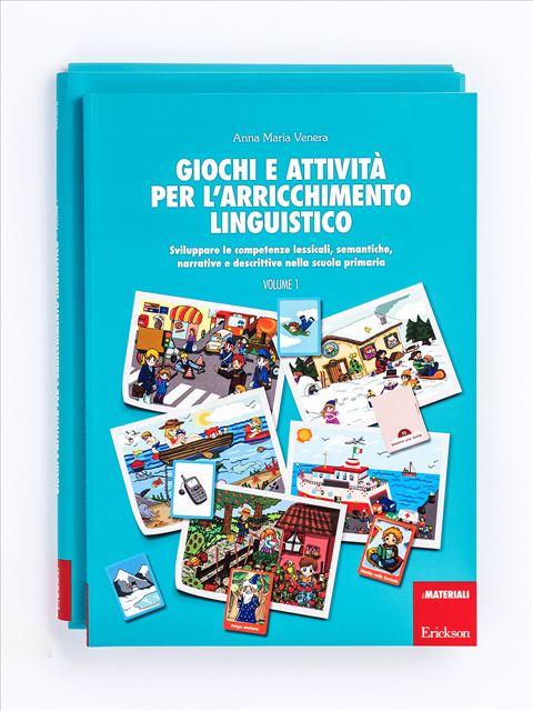 Giochi e attività per l'arricchimento linguistico - Volume 1 - Zoom - Giochi - Erickson