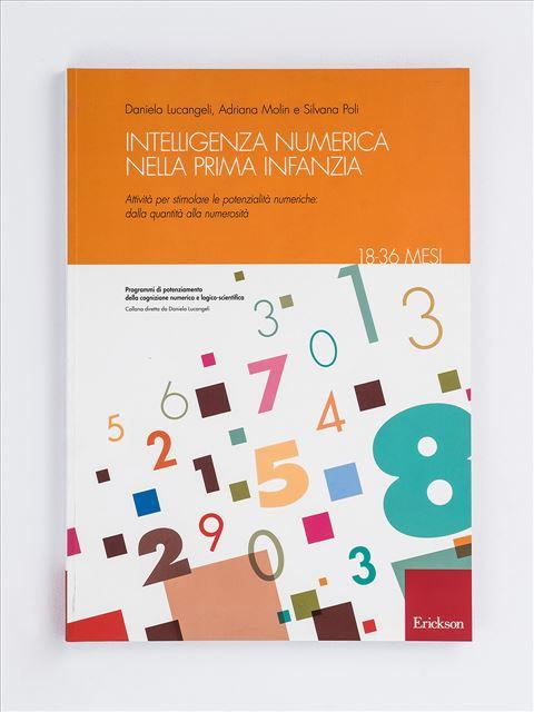 Intelligenza numerica nella prima infanzia - 18-36 mesi - Pre-calcolo - Erickson