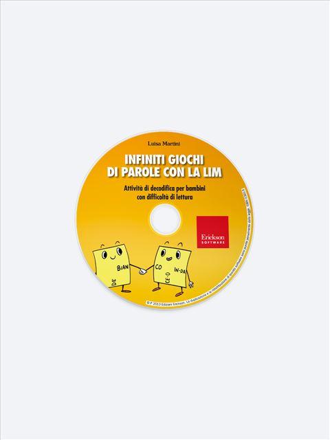 Infiniti giochi di parole - Occhio alle parole - Libri - App e software - Erickson 2