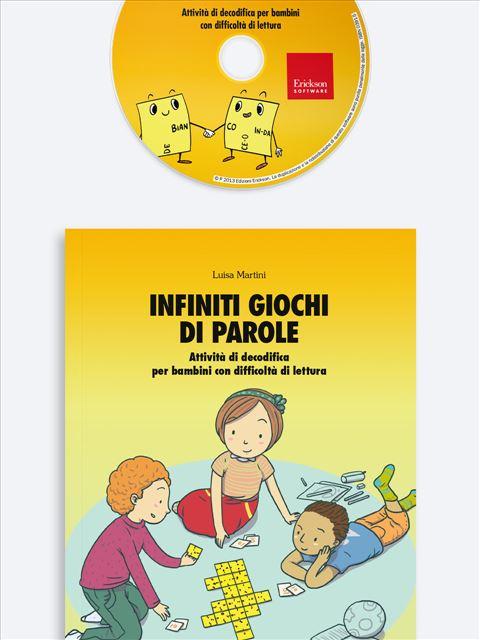 Infiniti giochi di parole - Occhio alle parole - Libri - App e software - Erickson 3