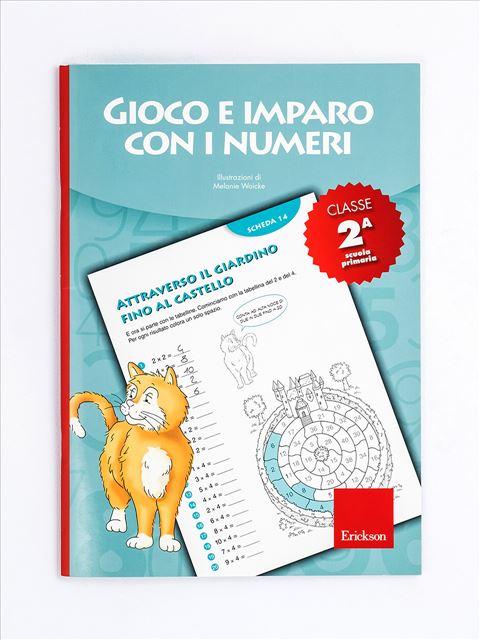 Gioco e imparo con i numeri - CLASSE SECONDA - I numeri e le 4 operazioni con la LIM - App e software - Erickson