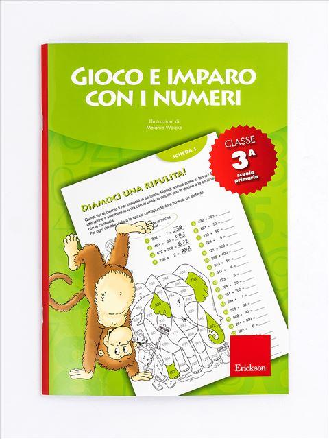 Gioco e imparo con i numeri - CLASSE TERZA - Libri per i compiti delle vacanze |  Classe quinta elementare