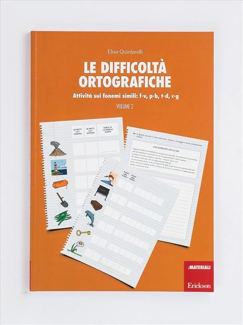 Le difficoltà ortografiche - Volume 2 - App e software per Scuola, Autismo, Dislessia e DSA - Erickson 3