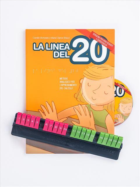 La linea del 20 - Versione per non vedenti e sordociechi - Camillo Bortolato - Erickson