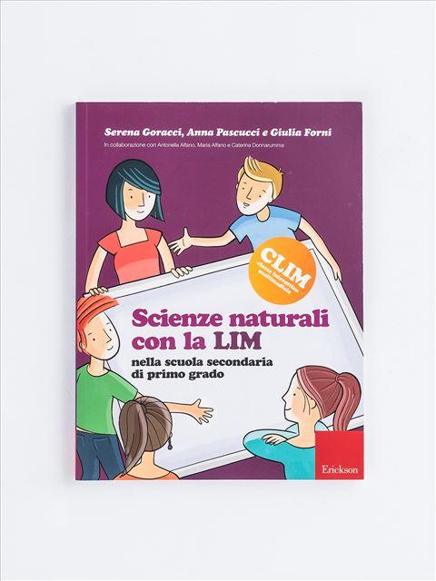 Scienze naturali con la LIM nella scuola secondari - Libri - Erickson