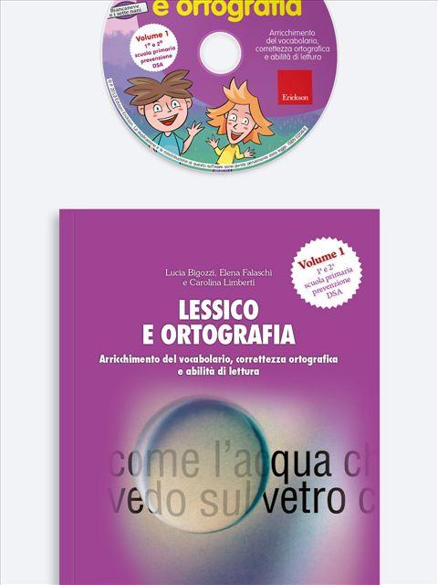 Lessico e ortografia - Volume 1 - App e software per Scuola, Autismo, Dislessia e DSA - Erickson 3