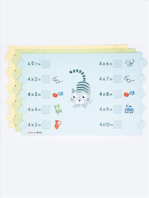 Imparare le tabelline - Cartelloni murali - I 7 elementi della didattica innovativa - Erickson