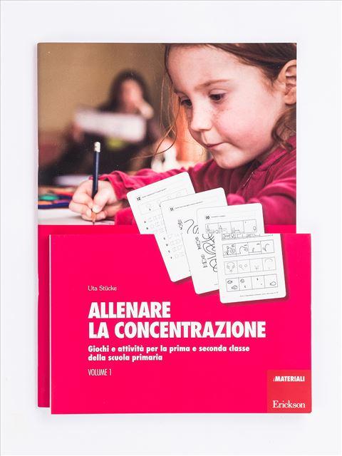 Allenare la concentrazione - Volume 1 - Memoria attenzione e concentrazione - Erickson 3