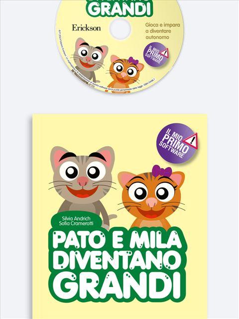 Pato e Mila diventano grandi - App e software per Scuola, Autismo, Dislessia e DSA - Erickson