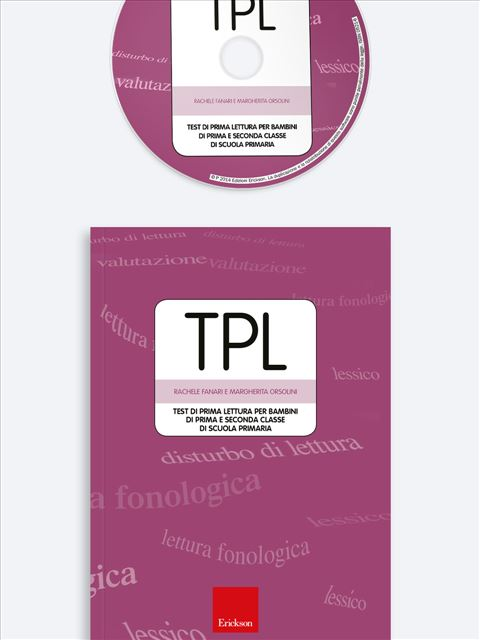 Test TPL - Test diagnosi autismo, asperger, dislessia e altri DSA - Erickson