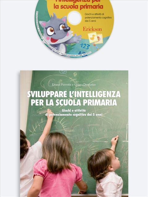Sviluppare l'intelligenza per la scuola primaria - App e software per Scuola, Autismo, Dislessia e DSA - Erickson 2