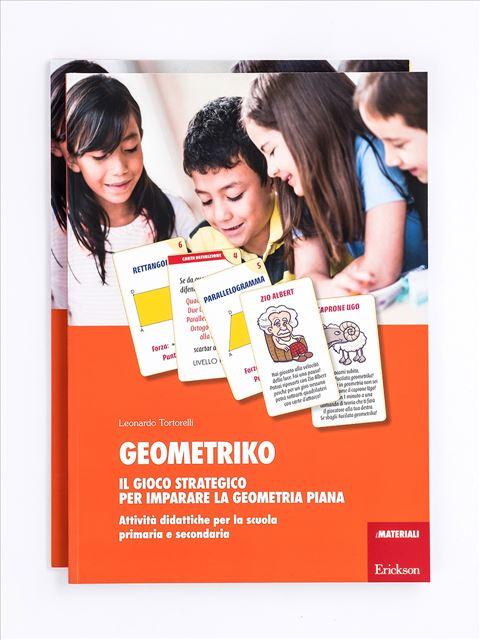Geometriko - Il gioco strategico per imparare la geometria piana - Geometria - Erickson