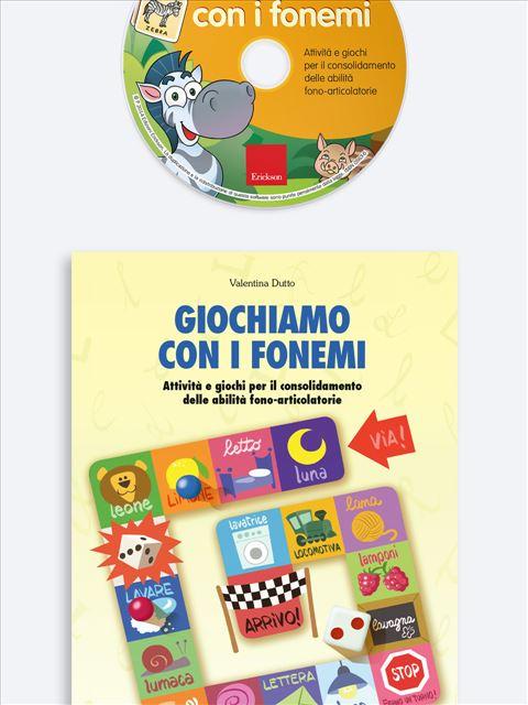 Giochiamo con i fonemi - App e software per Scuola, Autismo, Dislessia e DSA - Erickson 3