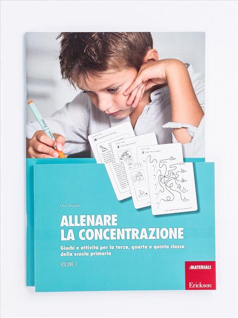 Allenare la concentrazione - Volume 2 - Memoria attenzione e concentrazione - Erickson
