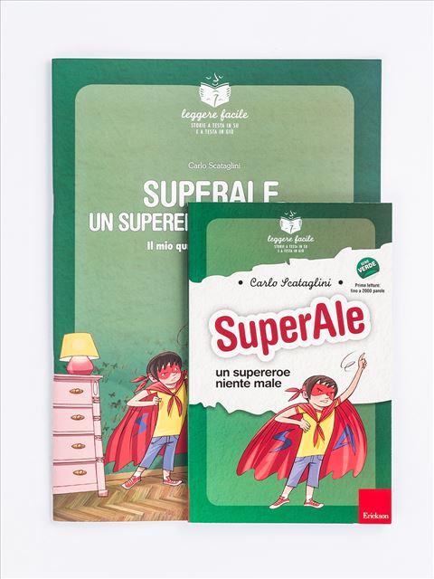 Leggere facile - SuperAle, un supereroe niente male - Search - Erickson