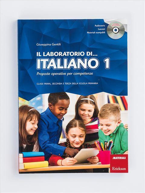 Il laboratorio di... italiano - Volume 1 - Il laboratorio di... italiano - Volume 2 - Libri - Erickson