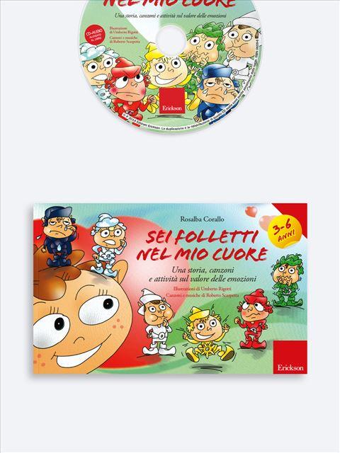 Sei folletti nel mio cuore (età 3-6 anni) - Libri - Erickson
