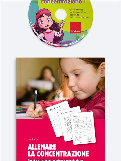 Allenare la concentrazione - Volume 1 - App e software per Scuola, Autismo, Dislessia e DSA - Erickson 2
