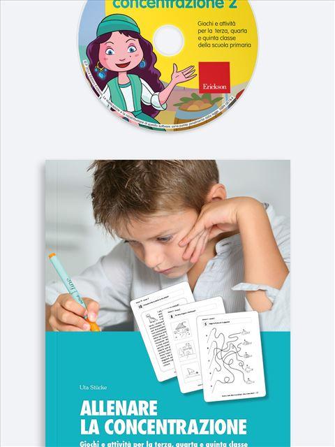 Allenare la concentrazione - Volume 2 - Memoria attenzione e concentrazione - Erickson 3