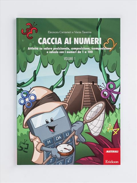 Caccia ai numeri - Volume 1 Libro - Erickson Eshop