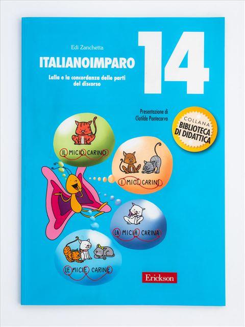ItalianoImparo 14 - Didattica per competenze - Erickson