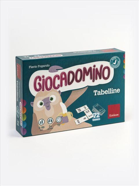 Giocadomino - Tabelline - Discalculia - Erickson