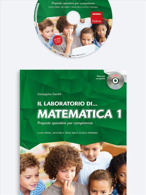 Il laboratorio di... matematica - Volume 1 - Il laboratorio di... italiano - Volume 2 - Libri - Erickson