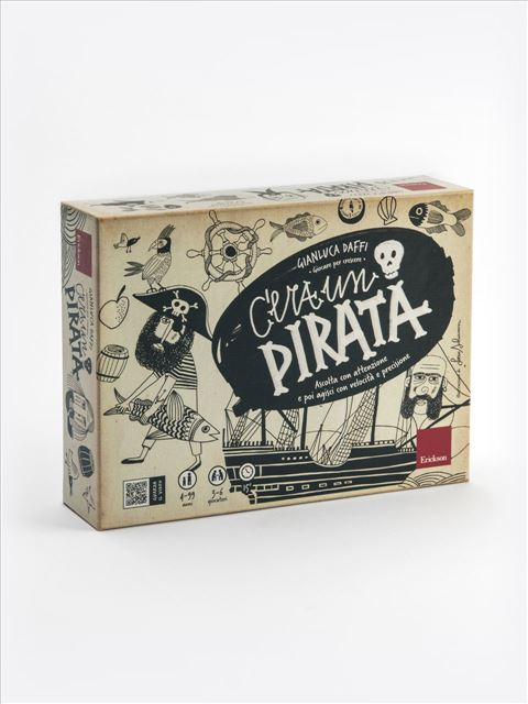 C'era un Pirata - Motricità Fine - Erickson