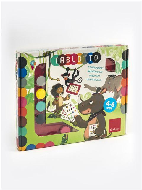 Tablotto (4-6 anni) - Disabilità intellettiva (ritardo mentale) - Erickson
