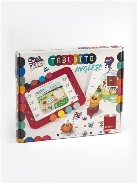 Tablotto Inglese 8+ - Logopedista - Erickson