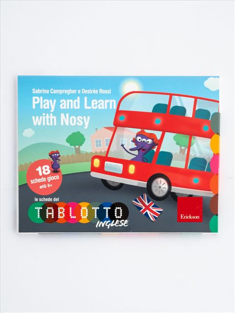 Schede per Tablotto (Età 8+) - Play and Learn with Nosy - Logopedista - Erickson