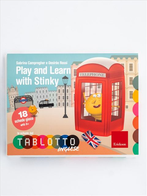 Schede per Tablotto (Età 8+) - Play and Learn with Stinky - Giochi Educativi, istruttivi e divertenti per bambini - Erickson