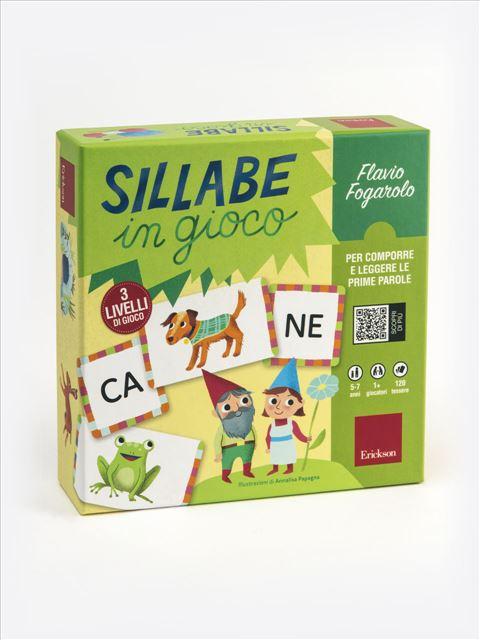 Sillabe in gioco - Giochi Educativi, istruttivi e divertenti per bambini - Erickson